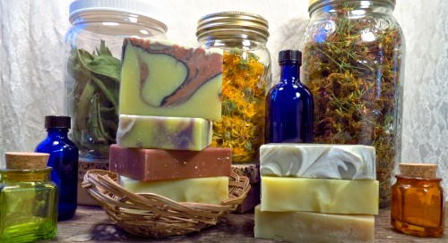 Organic Handcrafted Silk Soap