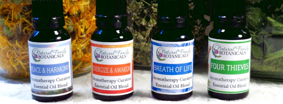 Custom Curative Blends of Therapeutic Essential Oils