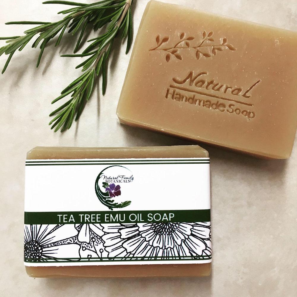 Tea Tree Emu Oil Soap
