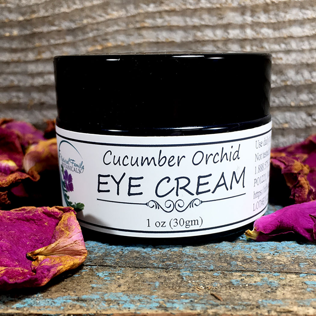 Organic Cucumber and Exotic Orchid Eye Cream