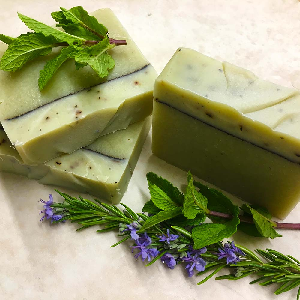 Peppermint Garden Organic Soap