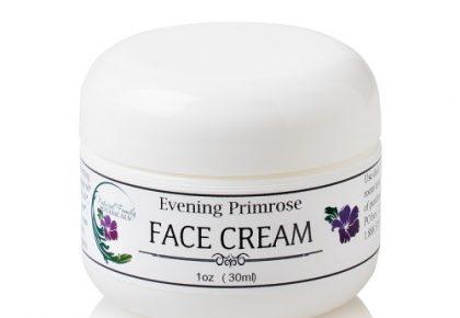 evening primrose anti-aging face cream