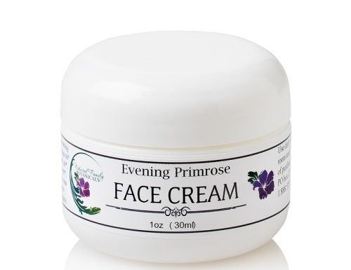 evening primrose anti-aging face cream