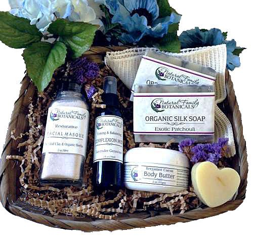 Natural Skin Care Gift Basket