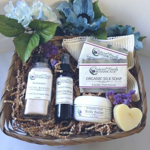 Gift Basket Natural Skin Care