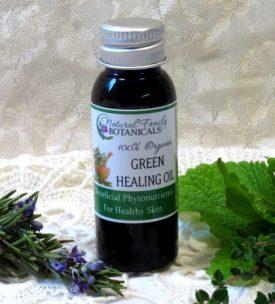 Phyto-nutrient rich body oil, healing body oil