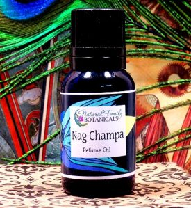 Nag Champa Incense Perfume Oil