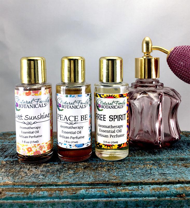 Aromatherapy Perfume Essential Oils