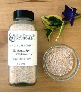 Facial Masque Restorative Clay