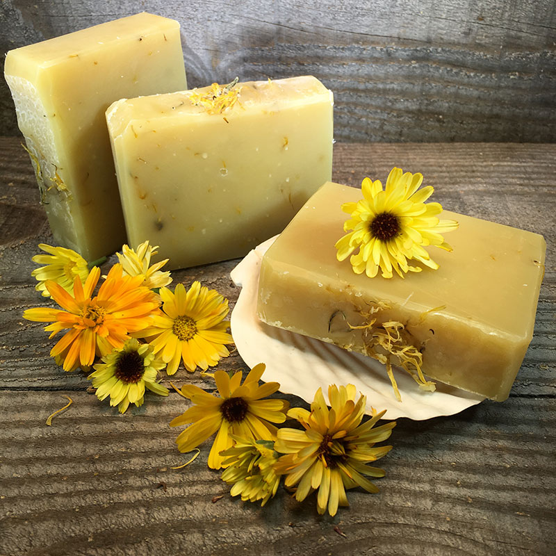 Calendula Organic Soap with Lavender Scent