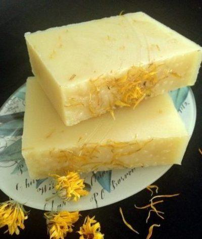 natural calendula soap