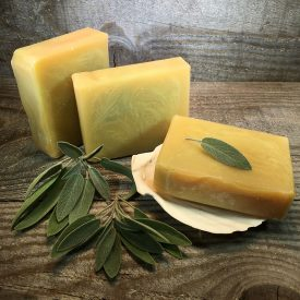 Lemongrass and Sage Organic Soap