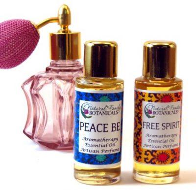 Aromatherapy Perfume Blends