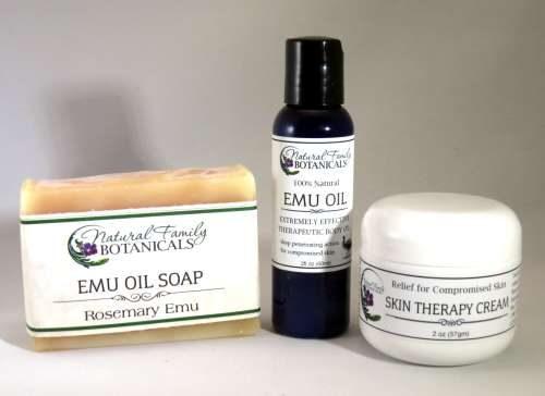 Emu Oil Skin Repair Set