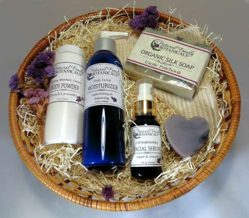 Natural Skin Care Gift Basket