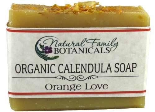 Calendula Orange Love Organic Soap