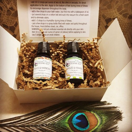 Gift Basket Aromatherapy Essential Oils