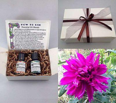 Essential Oil Gift Box