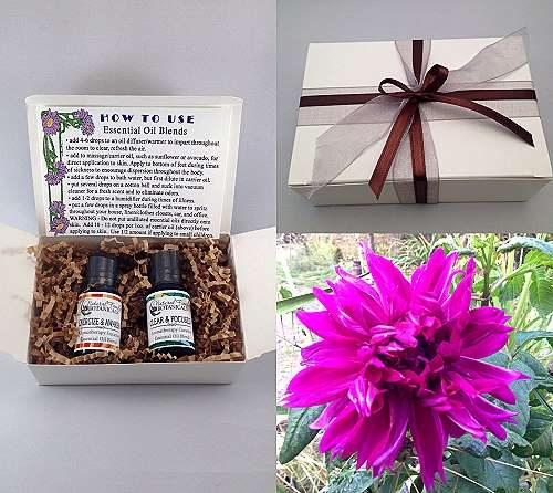 Essential Oil Gift Box