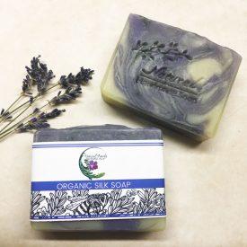 Lavender Swirl Organic Soap