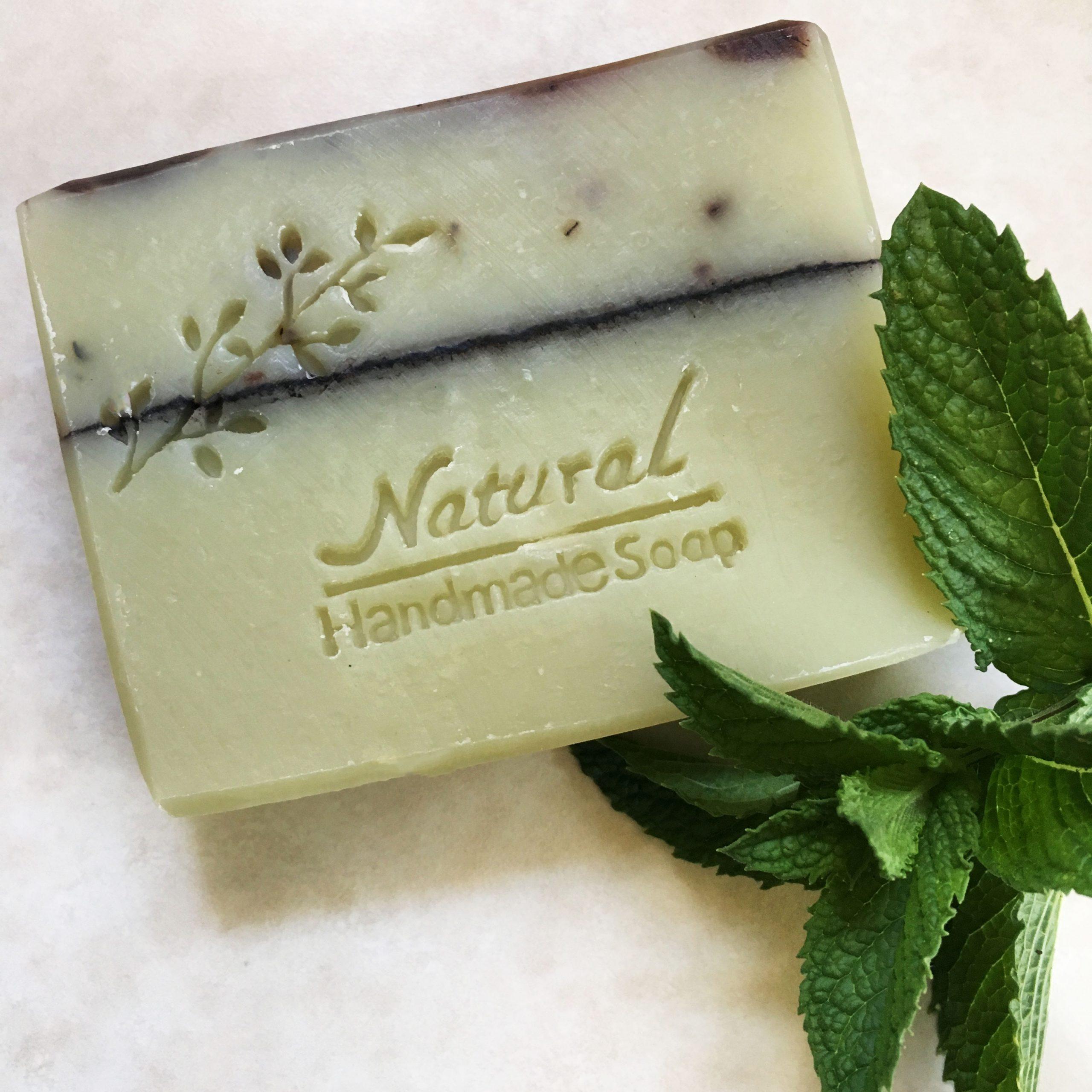Organic Soap Peppermint Garden