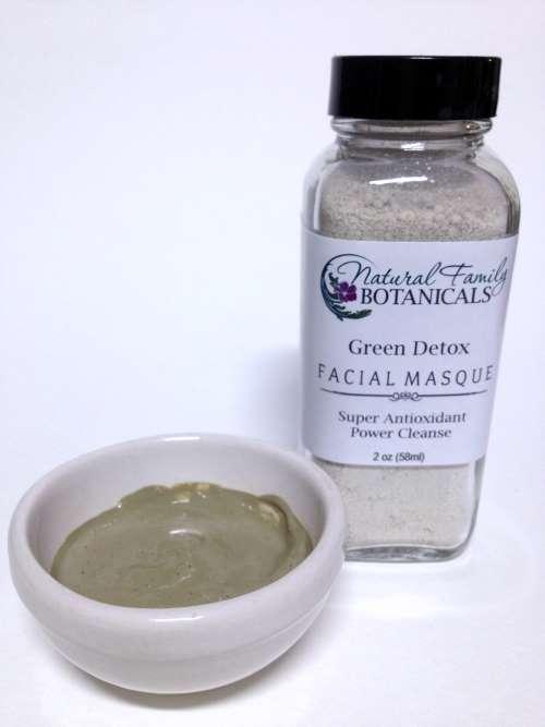 Green Detox Facial Masque