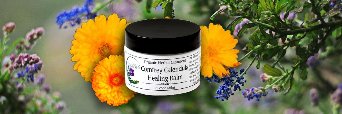 Comfrey Calendula Healing Ointment