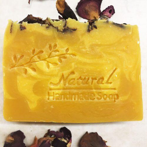 Organic Honeysuckle Rose Soap