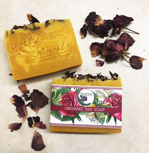 Honeysuckle Rose Organic Soap